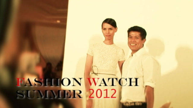 Fashion Watch Summer 2012: Dennis Lustico 1