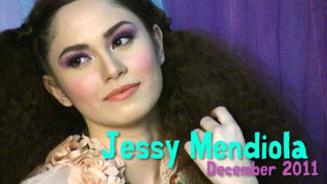 Behind The Scenes Of Preview Girl December 2011: Jessy Mendiola