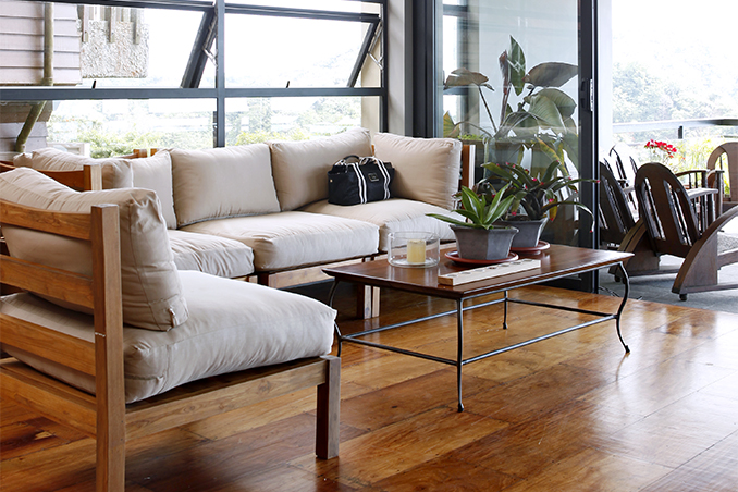 5 common flooring materials for any filipino home - Small space living room designs philippines ...