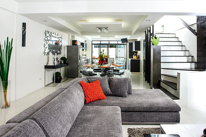 Ryzza Mae S Modern Contemporary Townhouse In Quezon City Rl