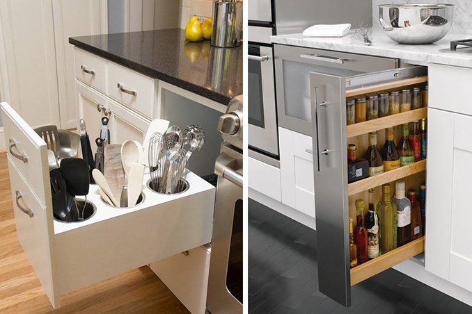 5 Hidden Storage Ideas You'd Love To Try In The Kitchen