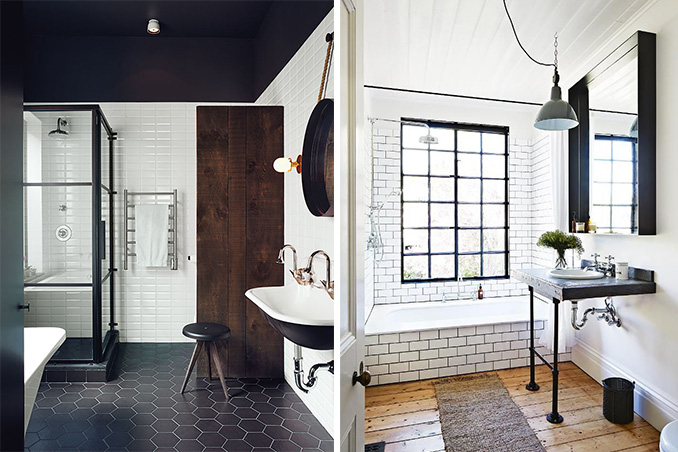 5 Industrial Bathroom Design Ideas To Glam Up Your Home: 5 Easy Ideas For An Industrial-Inspired Bathroom