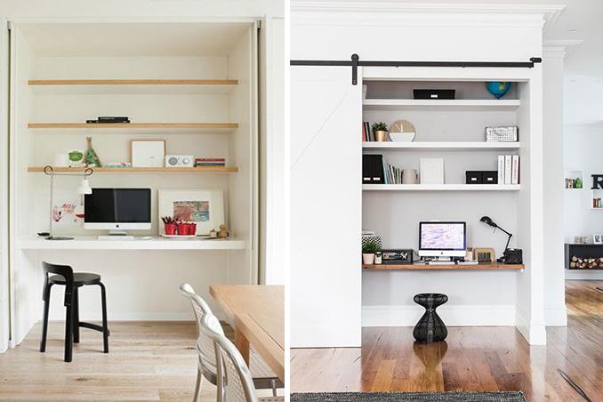 4 secret home office ideas you can work on rl for Hidden home office ideas