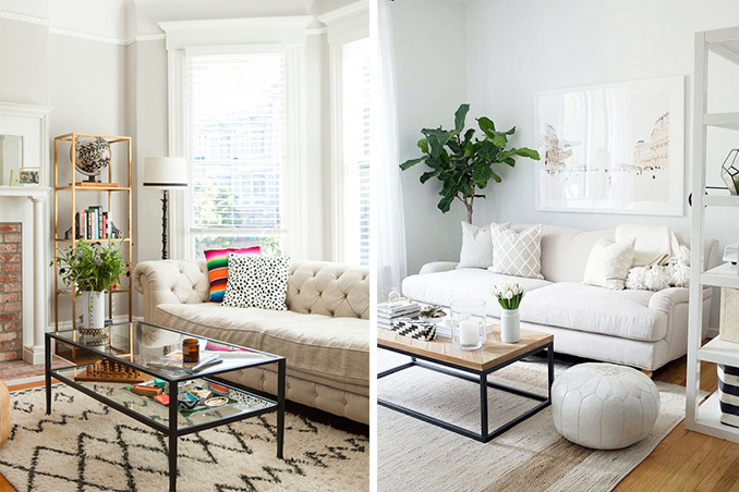 3 Ways To Work With A Neutral Sofa