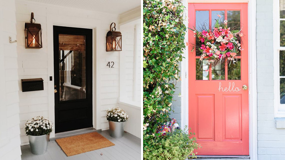 5 Pretty Front Doors That Leave A Lasting Impression