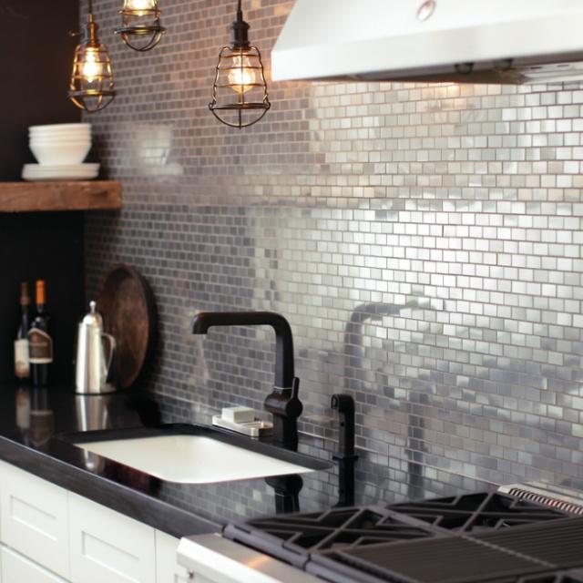 Odd And Beautiful Kitchen Backsplashes: 5 Unique Backsplash Ideas For Your Kitchen
