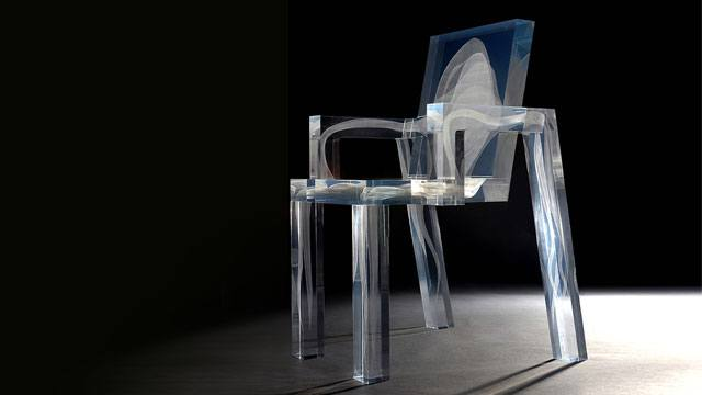 The Ghost Chair Also Has A Very Sharp Edged Graphic Silhouette With Ghost Like  Forms Seen On The Backrest And Legs That Were Created Using Laser  Technology. Great Pictures