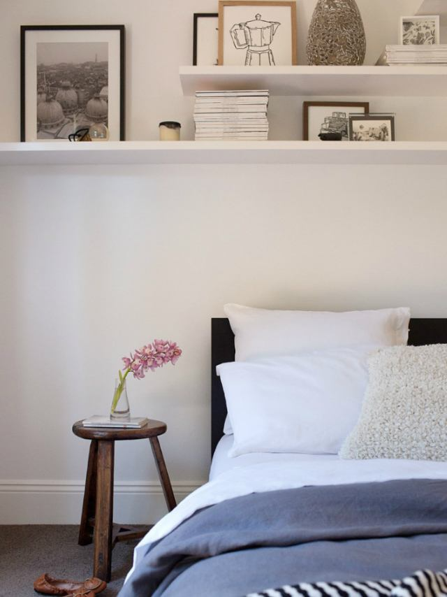 5 alternative ideas for beds without headboards - Bed without headboard ideas ...