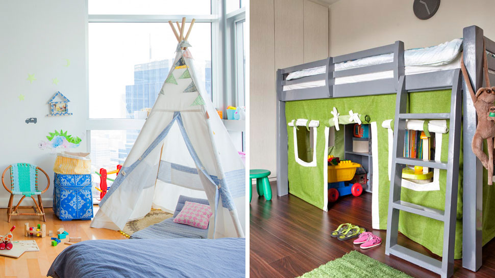 10 Cool Kid's Room Ideas For Small Spaces