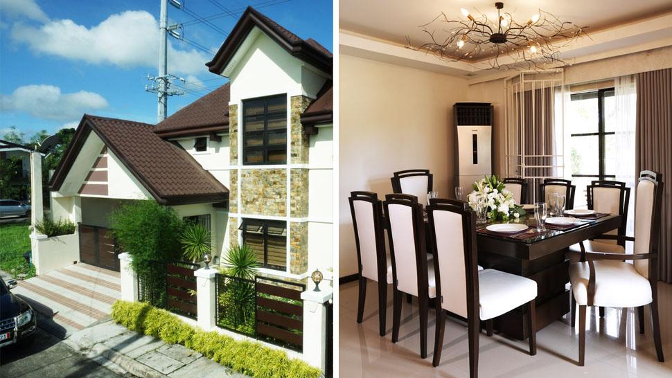 Delightful Alden Richardsu0027s Two Storey House In Laguna