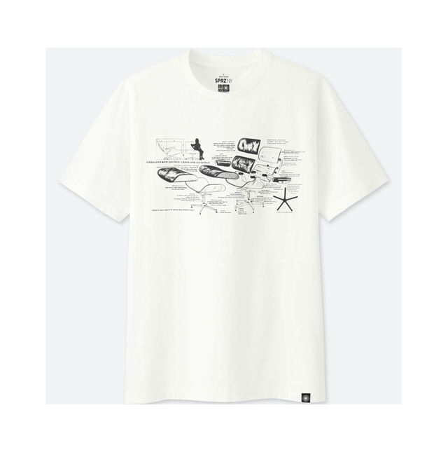 Look Uniqlo T Shirts With Eames Furniture Rl