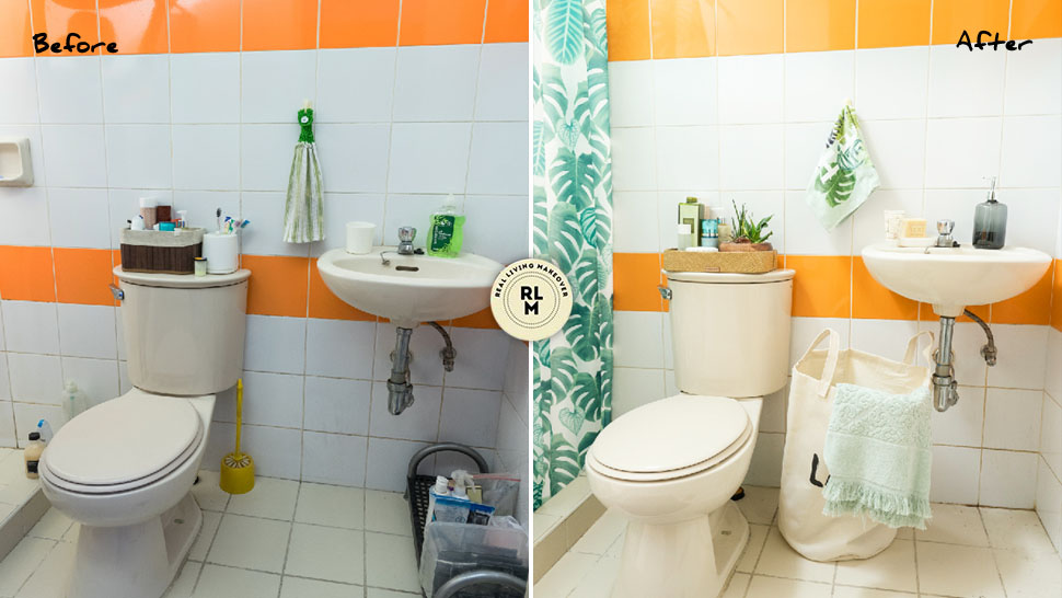 Mini Makeovers An Instant Bathroom Update Under P5000 This Is The Secret To An Instant