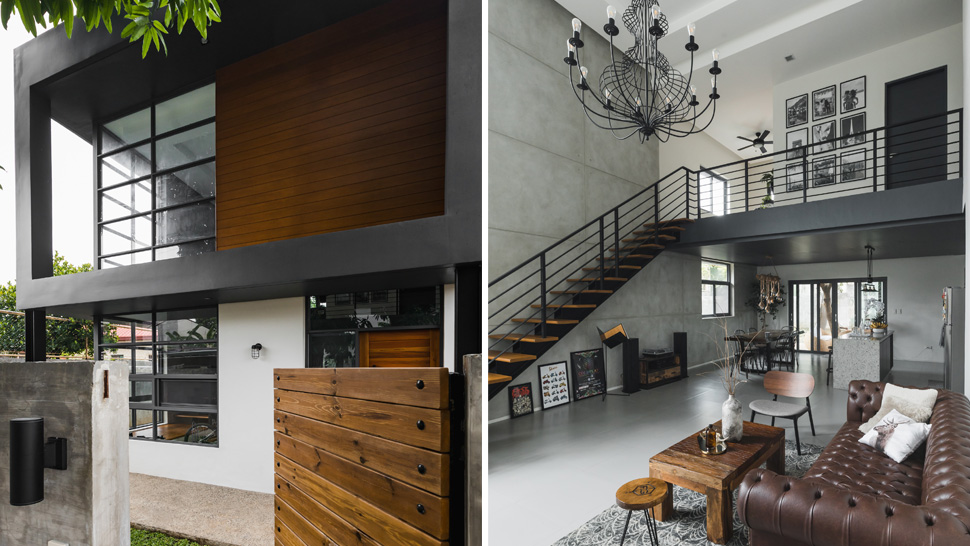 Style Rules This Modern Minimalist Industrial Home