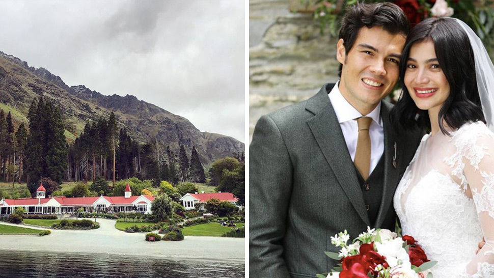 Boho Meets Rustic For Anne Curtis And Erwan Heussaff S Wedding