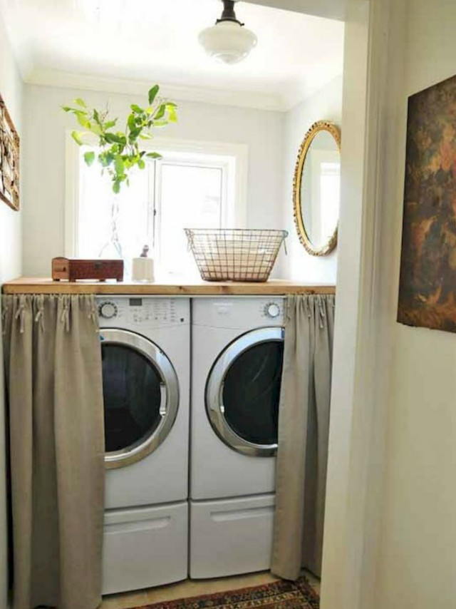 5 tiny laundry areas to inspire you to build your own rl image mariafernandaojea via wordpress solutioingenieria Gallery
