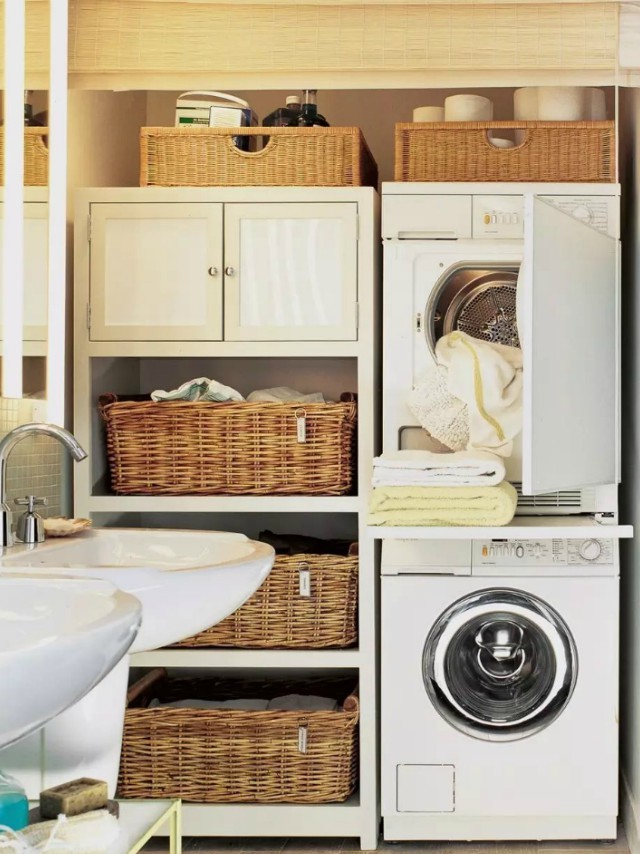 5 tiny laundry areas to inspire you to build your own rl image buildsomething solutioingenieria Gallery