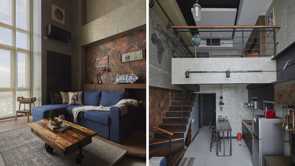 industrial home furniture. This Loft-Type Condo Is The Industrial Home Of Your Dreams Furniture