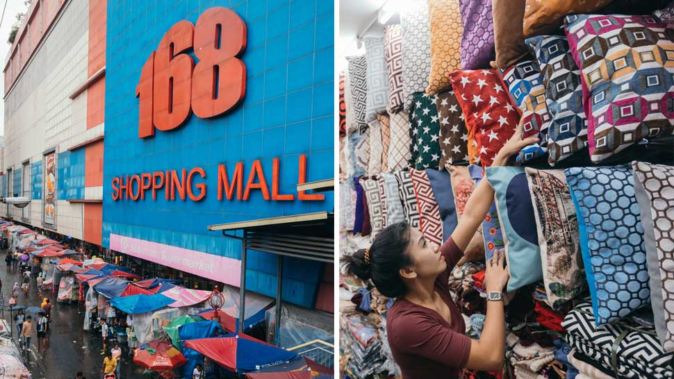 Do Your Budget Home Shopping At 168 Mall In Divisoria Rl