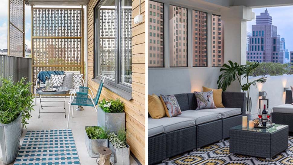 6 Quick Fixes To Make Your Small Balcony Look Big Rl