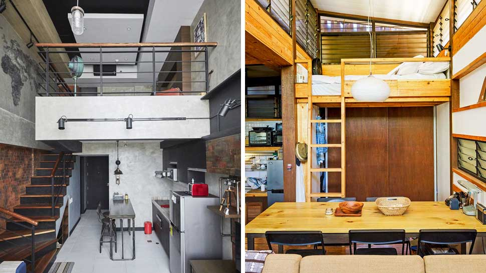 Home Design Ideas Pictures: 9 Amazing Small-Space Ideas From Loft Homes