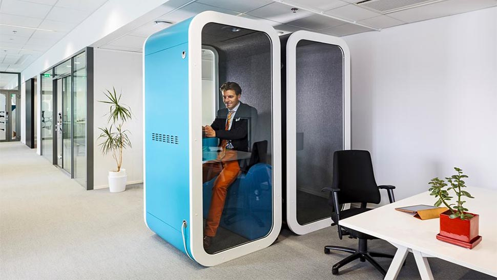 Genial You Can Lock Out The World In This Tiny Office Pod