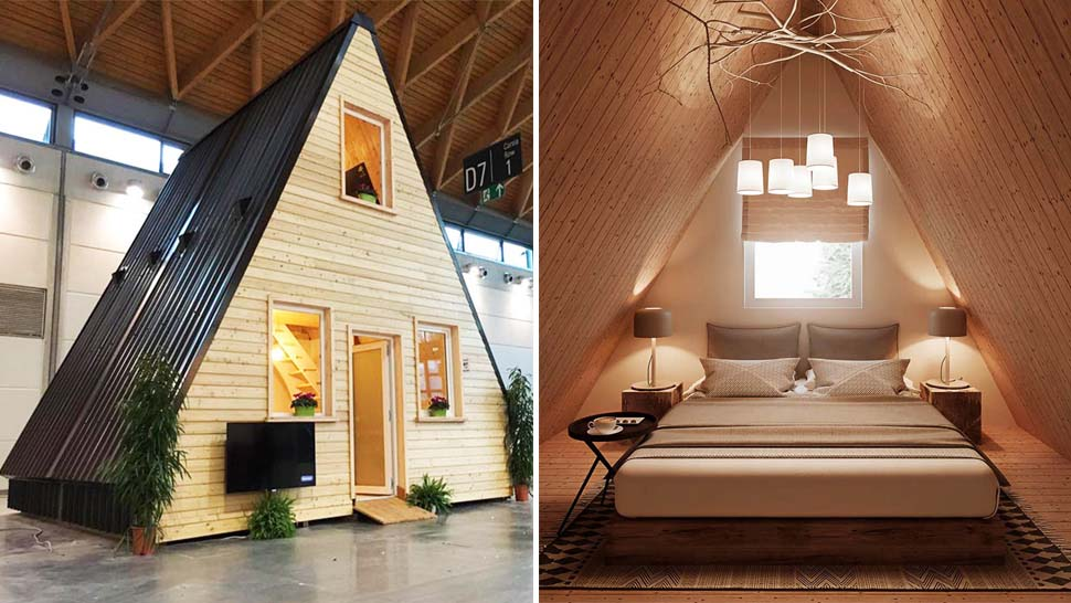 This Cool Modern House Can Be Built In 6 Hours