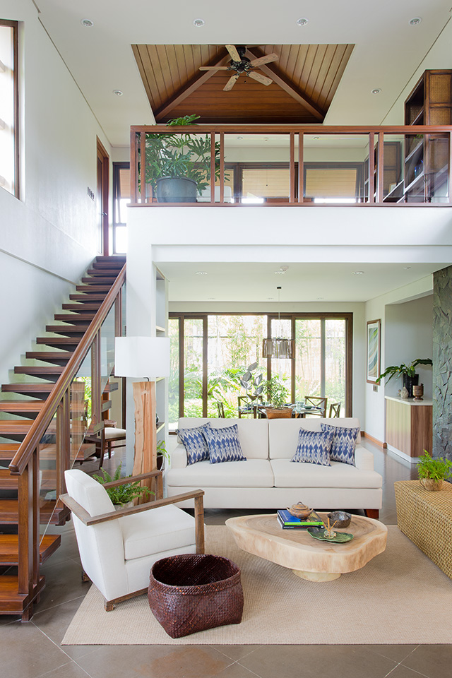 This modern bahay kubo in tagaytay is a lesson in tropical - Housing and interior design lesson plans ...