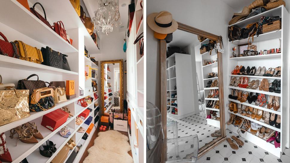 Small Walkin Closet Makeover