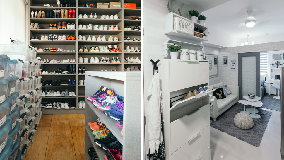 10 Clever Ways to Organize Shoes in Small Spaces | RL