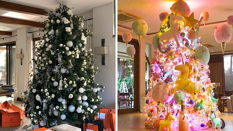 Christmas Trees Of Celebrities
