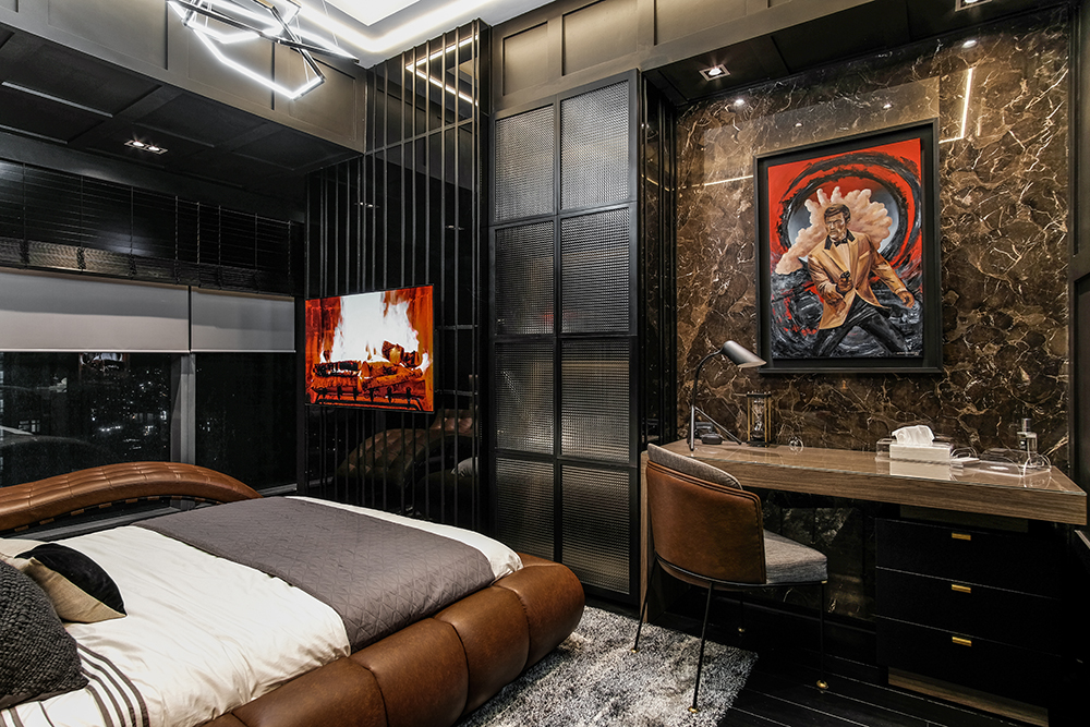 Bachelor pad in taguig by interior designer Dianne Versoza