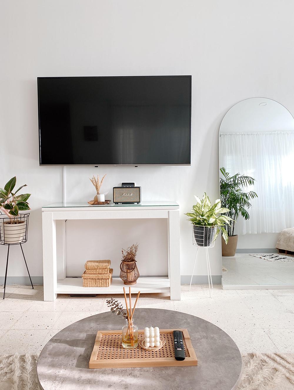 boho-minimalist home