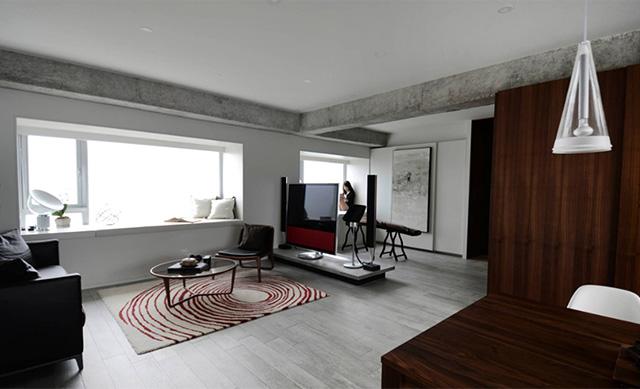 A Minimalist Condo With Serene Interiors And Raw Touches on condo in hanger design, beach condo design, contemporary condo design, modern condo design, condo interior design,