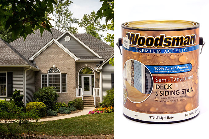 Building 101 Woodsman Deck And Siding Stain