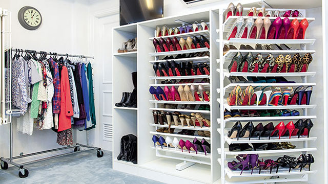 d277886f296 A walk-in closet is a homeowner s dream! If you love collecting shoes like  celeb sisters Alex and Toni Gonzaga, you can trust shoe racks and  organizers to ...