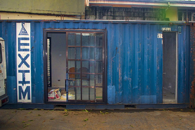 A 15sqm Container Van Home Rl
