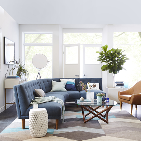 RL News West Elm Opens First Philippine Retail Store RL - West elm spindle coffee table