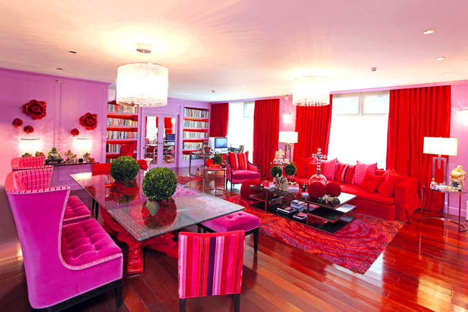 Colorful Eclectic Style reigns in Kris Aquino\'s Condo | RL
