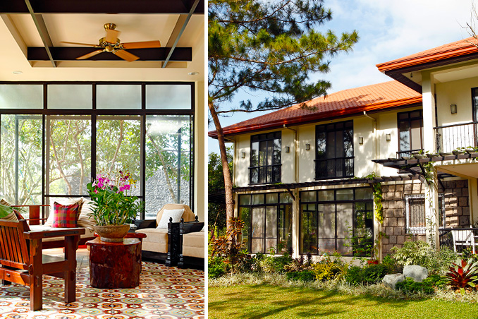 Tropical Filipino Design For A Family Home In Sprawling Rest House