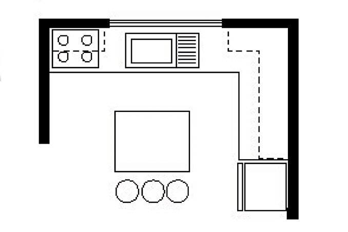 Kitchen Layout Templates 6 Different Designs: 6 Basic Kitchen Layouts