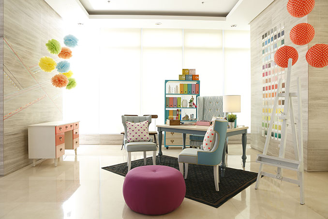 Cute Home Office Ideas: 8 Cute Ideas From A Home Office In Taguig