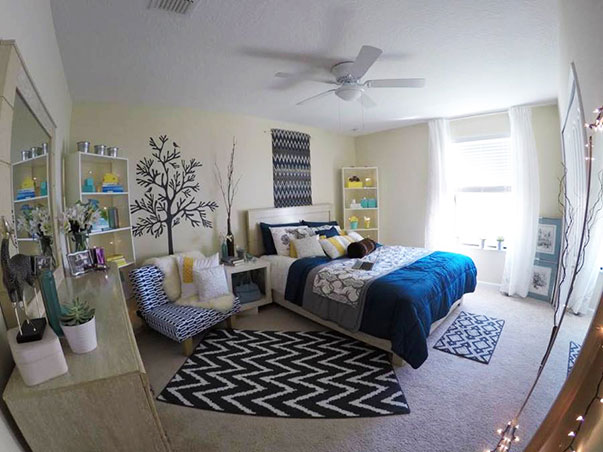 Mini Makeovers: 7 Bedroom Decorating Ideas from a Real Living Reader ...