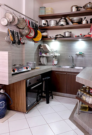 Mini Makeovers A Kitchen Renovation In Cainta Rizal Rl
