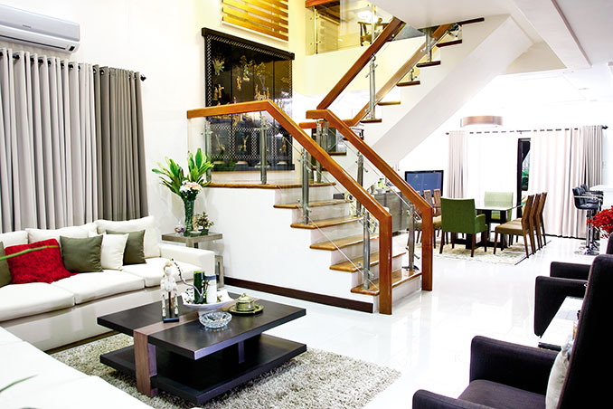 Doug and Chesca Kramers ThreeStorey House with a Modern