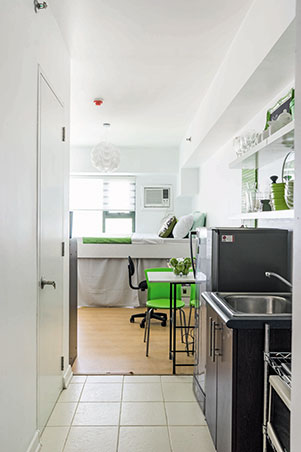 Living Area Kitchen And Bedroom Makeovers In A 21sqm