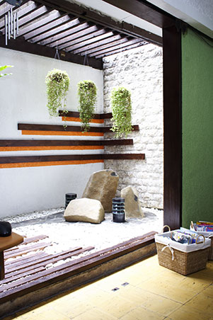 eclectic zen style for the living area and lanai for p40,000 | rl