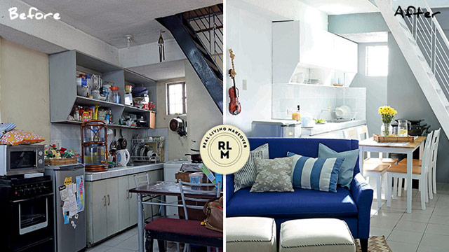 In Photo: A Makeover Project For A 30sqm Townhouse. Click Here To See The  Transformation.