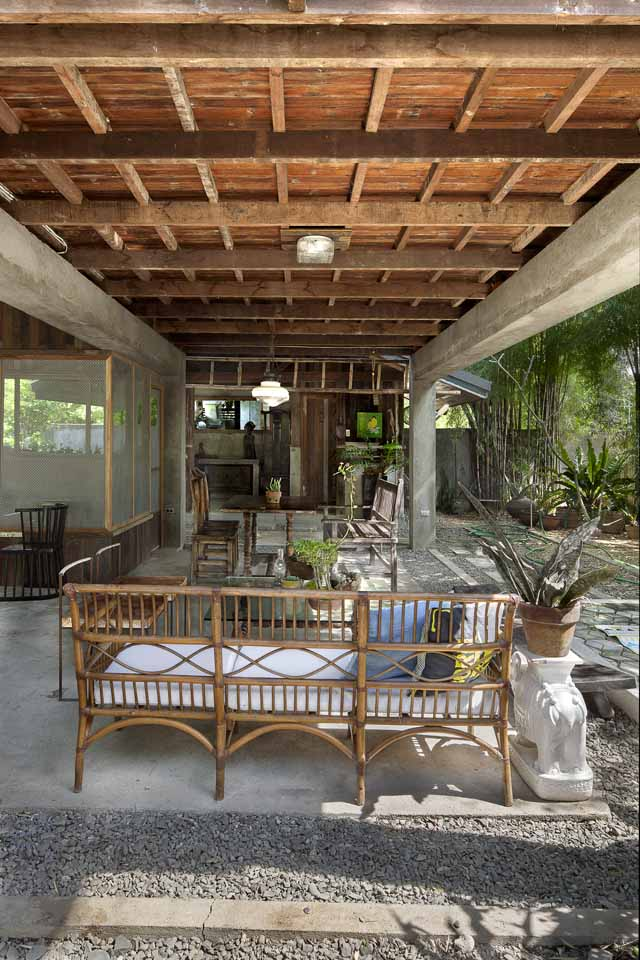 A Filipino Bahay Kubo With Modern Industrial Touches