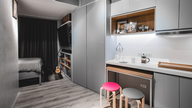This 17sqm Studio Unit Gives Us Small Space Goals | RL