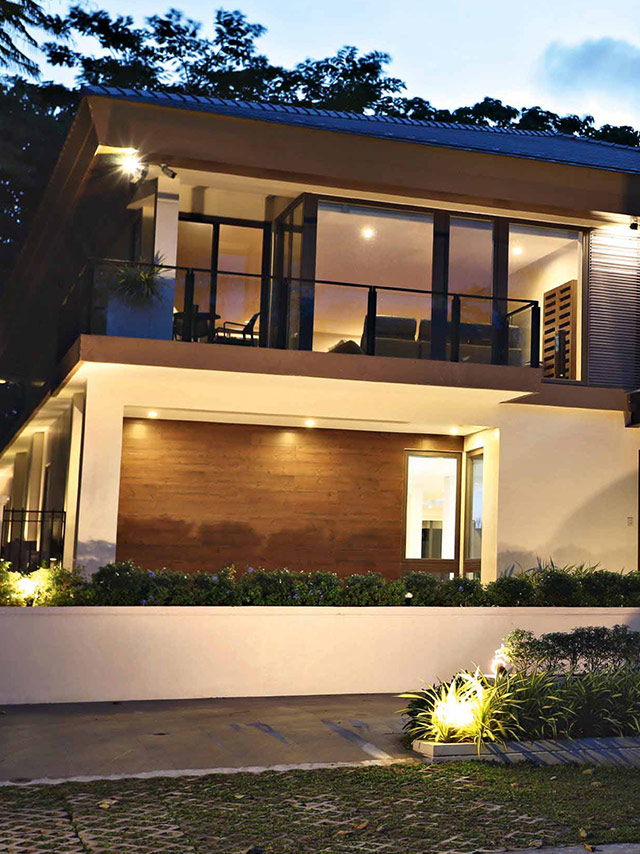 Two Storey Homes Perth: Vic Sotto And Pauleen Luna's Two-Storey House In Laguna